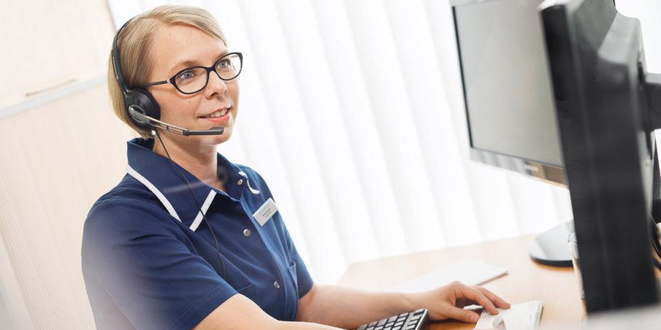 Sjuksköterska Johanna Baarman