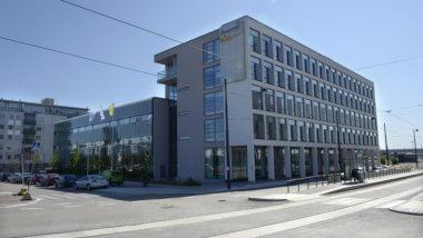 Docrates Syöpäsairaala, rakennus ulkoa. Docrates Cancer Center Helsinki
