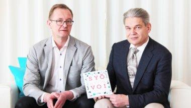 Syo hyvin. Reijo Laatikainen ja Timo Joensuu.