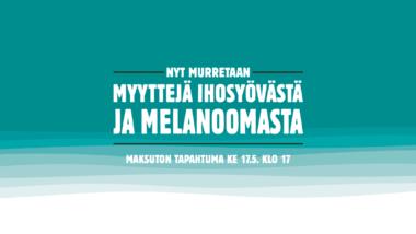 Melanooma-yleisötilaisuus