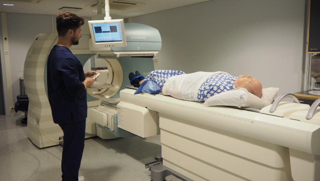Patsient s rakom prostate Aleksandr v SPET