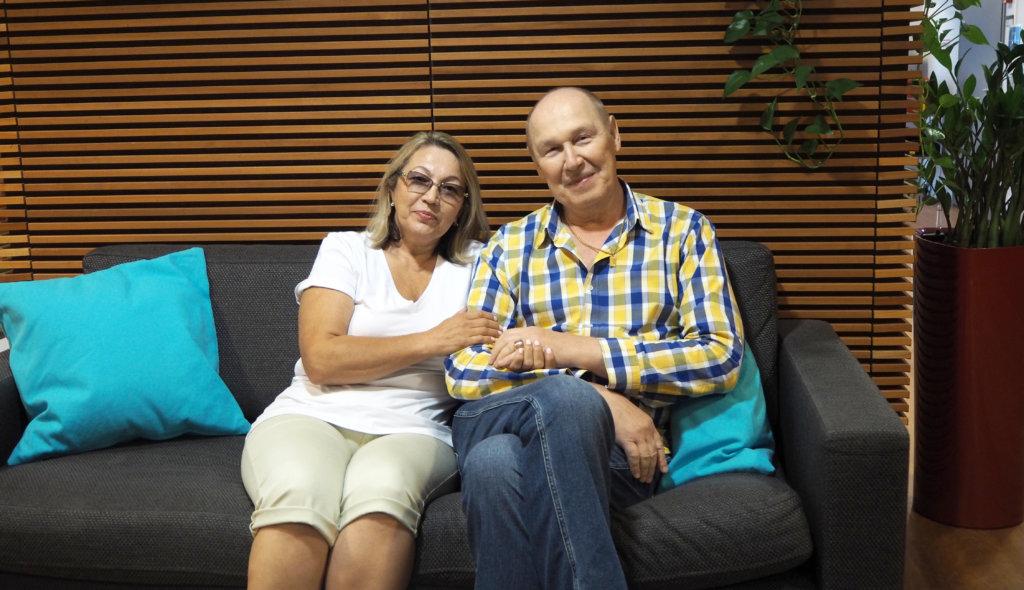 Patsient s rakom prostati Aleksandr s zhenoj