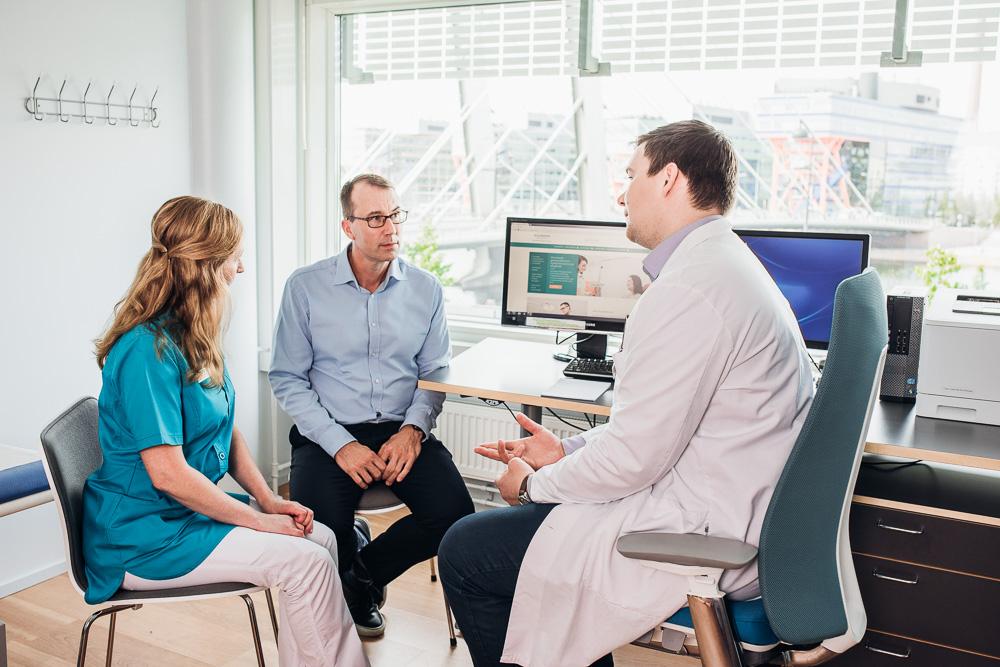 symtom och diagnos prostatacancer vård